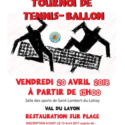 TOURNOI DE TENNIS-BALLON